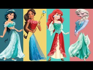 Wrong Legs Disney Princess Jasmine Ariel Elsa Elena De Avalor Family Finger Song Nursery Rhymes For