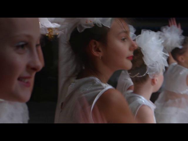 Колектив сучасного естрадного танцю Тіп топ з новорічним танцем