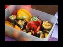 Закуска из запеченных баклажанов и болгарского перца
