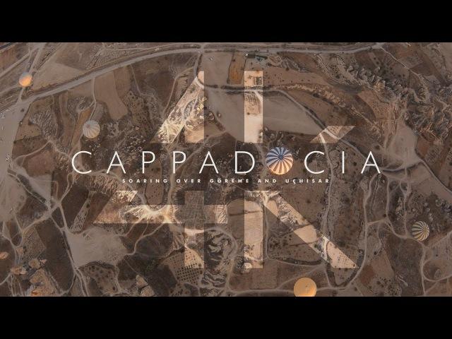 Cappadocia, Turkey - Hot Air Balloon Flight - Soaring over Goreme Uchisar - 4k GoPro HERO6 Black
