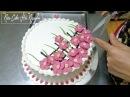 Bánh Sinh Nhật Trang Trí Hoa Đào Đơn Giản Và Dễ Làm