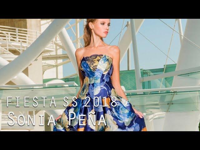 Vestidos de fiesta Primavera Verano Sonia Peña 2018