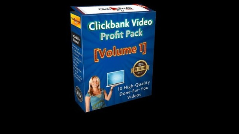Clickbank Video Profit Pack Volume 1 Review, Bonus – 10 Clickbank Affiliate Review Videos DFY