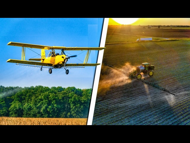 Crop Dusting and Spraying 2017 | Poynter Family Farms
