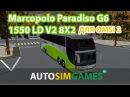 Marcopolo Paradiso G6 1550 LD V2 8X2 для Omsi 2