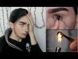 ♥Блогер DimSi в линзах SuperGlazki♥ что нельзя делать с ЛИНЗАМИ !? Dimsi14