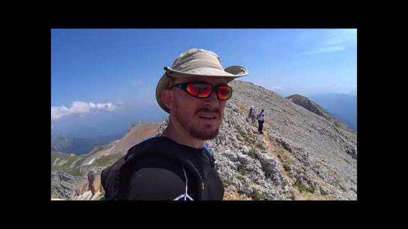 Восхождение на гору Оштен, горы, вершина, сварить борщ, горелка MSR Reactor