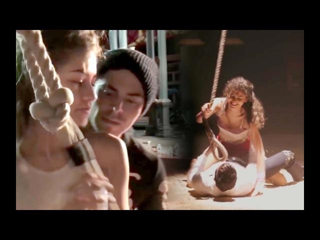 All Zac Efron Zendaya Behind the Scene/Rehearsal moments