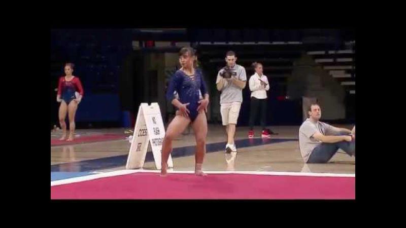Katelyn Ohashi (UCLA) 2018 Floor vs Arizona 9.725