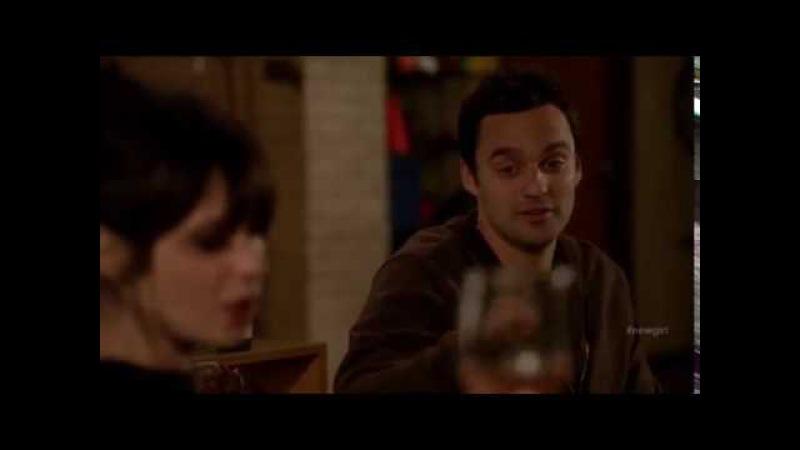 New Girl: Nick Jess 2x16 14 (Nick dances to cheer Jess up)