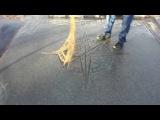 Как сделать красивые узоры на бетонной стяжке своими руками используя форму