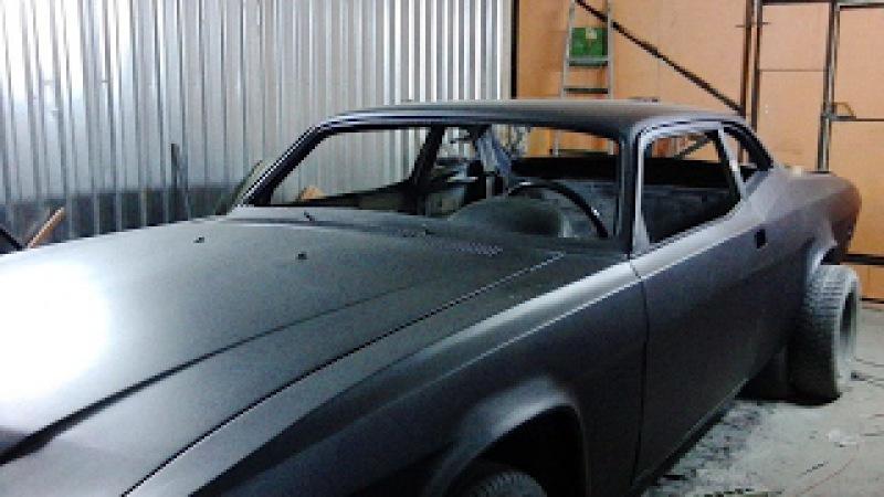 Мускул кар на базе Волги ГАЗ 3102 своими руками