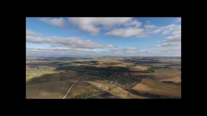 Бижбулякский район с высоты птичьего полета