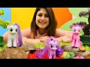 Ayse ve Ponyler sihirli gölde saklambaç oyunuyorlar!