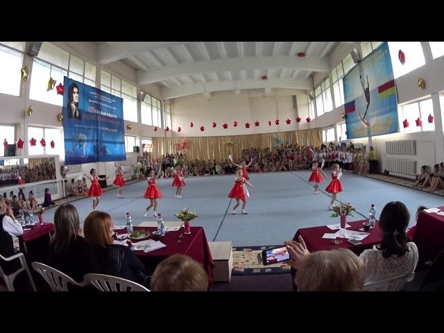 Художественная гимнастика. Владикавказ, апрель 2017-ого года.