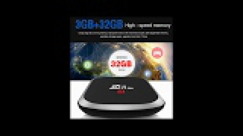Generic Z69 Plus Android TV Box – Android 7. 1. 2, Octa-Core, 3GB RAM, 4K Support, 3D Media Support