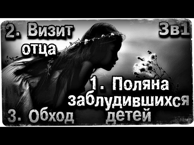 Истории на ночь (3в1) 1.Поляна заблудившихся детей, 2.Визит отца, 3.Обход