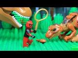 Lego Spiderman Deadpool Jurassic Dream