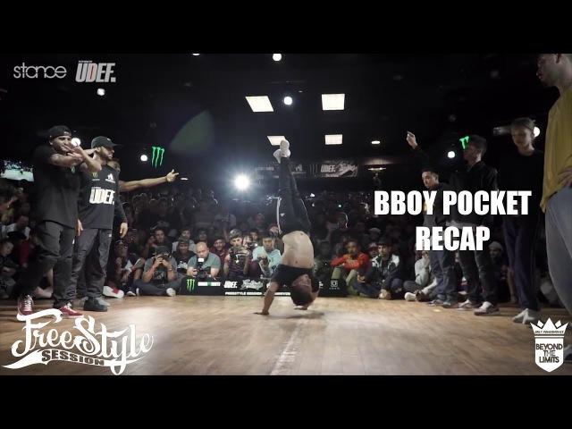 Freestyle Session 2017 | BBOY POCKET RECAP