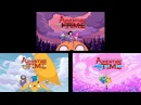 Adventure Time Stakes Islands and Elements Intro Comparison
