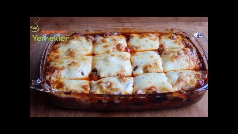 Etli, Kaşar Peynirli Musakka Tarifi,Ana Yemek Tarifi Hayalimdeki Yemekler