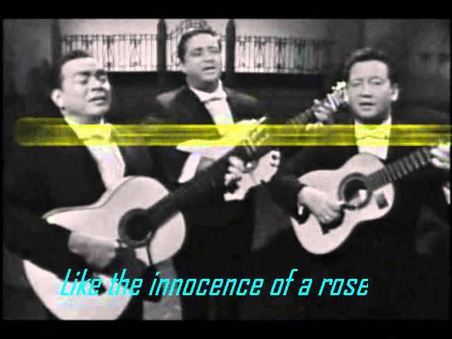 MALAGUENA -TRIO LOS PANCHOS w lyrics translation