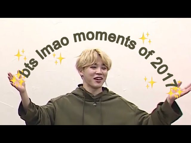 BTS || FUNNIEST MOMENTS OF 2017 || Hobii
