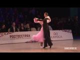 Жарков Дмитрий - Куликова Ольга, Final Solo English Waltz