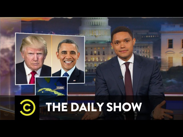 So Much News, So Little Time - NRA Silence on Philando Castile Canceling Cuba: The Daily Show