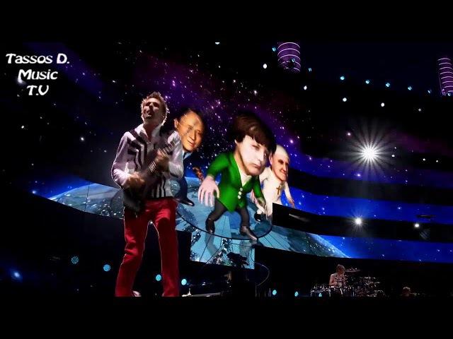 Muse - Panic Station Live at Rome Olympic Stadium