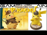 Detective Pikachu is About 3 Times Longer Than 2016 Version + amiibo Details & Close-Up Look