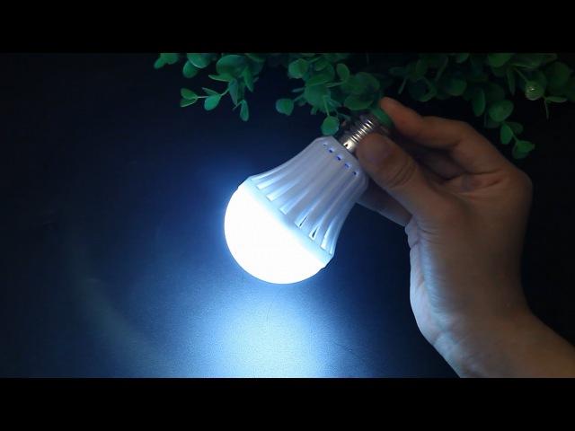 E27 12V 5W Intelligent Emergency Globe Lamp