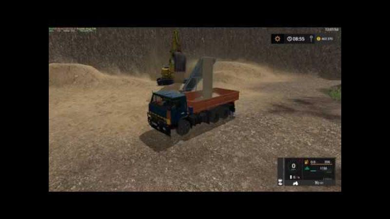 Мод грузовик Kamaz 5320 Collective V1 2 1 Фермер Симулятор 2017 смотреть онлайн без регистрации