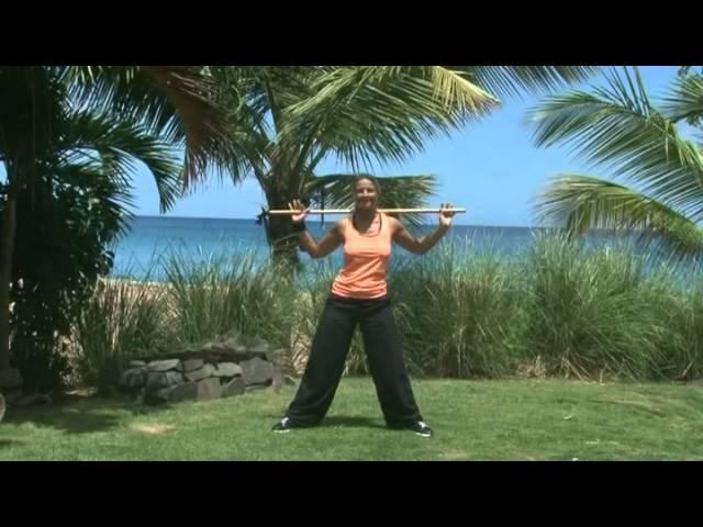 Renforcement musculaire Special bâton - Programme minceur sport