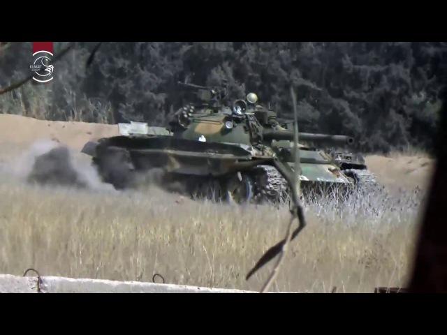 Бронированное разрушение львиных банд на фронте Рейхан с помощью управляемой ракеты