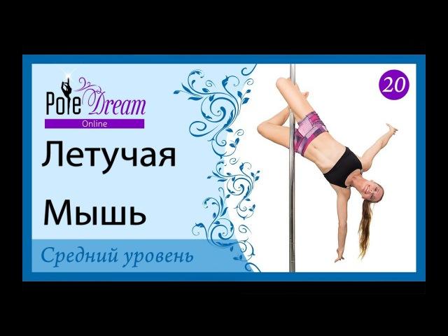 20 - Видео урок Pole Dance - Летучая Мышь