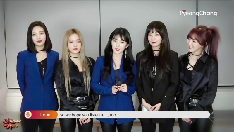 180219 Pops in Seoul @ Red Velvet Cut