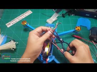 How to make a DJI Mavic Clone Quadcopter With 3D Printer