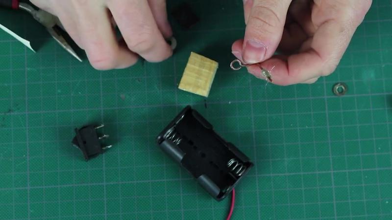все идеи Как сделать мини паяльник на батарейках своими руками How to make a mini solderig iron