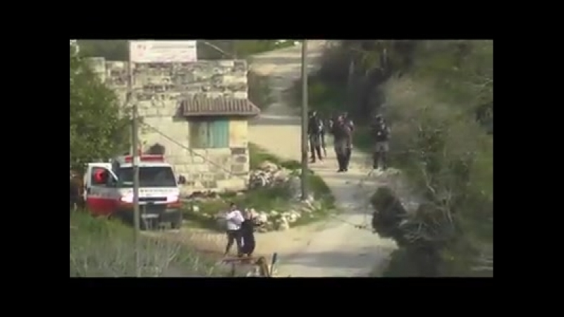 The ongoing violence against the residents of Burin (near Nablus) continued this week. At around 1500, several soldiers and bord