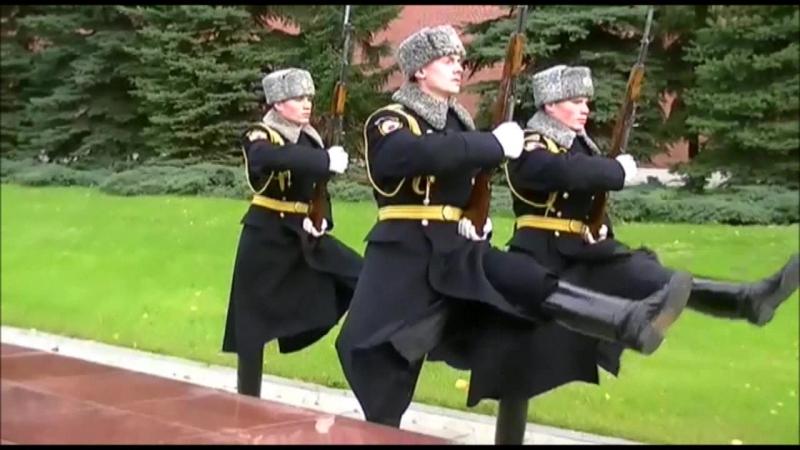 Президентский полк 1 РСК ФСО РФ Последний караул