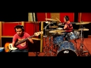 Red Hot Chili Peppers - Dani California - Drum and Bass Guitar cover