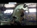 Экскаваторщик в Кавалерово делает скульптуры и доспехи из железа
