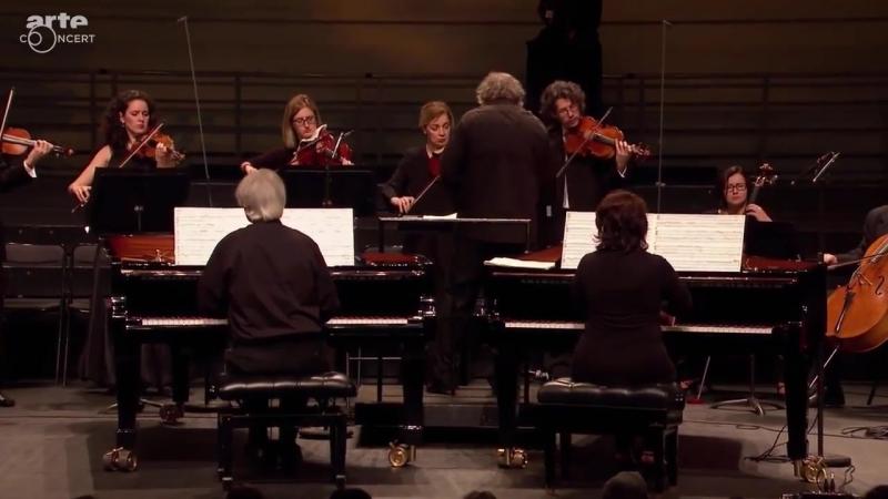 1062 J. S. Bach - Concerto for 2 Pianos in C minor BWV 1062 - Edit Klukon, Dezso Ránki - Concerto Budapest - András Keller