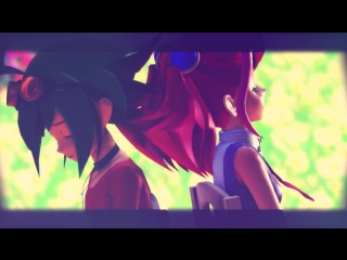 【MMD YuGiOh! ARC-V】 Demons 『 Yuya x Yuzu 』