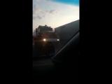 25.11.17 на трассе под Богдановичем загорелась фура