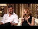 Chris Hemsworth and Jessica Chastain Interview Each Other E! Live from the Red C