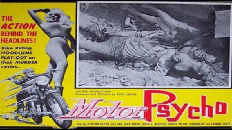 1965 Russ Meyer - Motorpsycho! ITA-Stephen Oliver, Haji, Alex Rocco