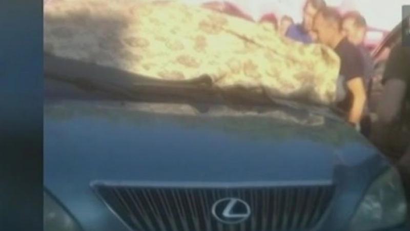 Отец оставил в раскалённой машине младенца и ушёл