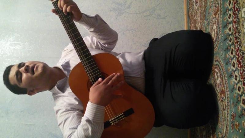 Turkmen gitara SENEMİN halk aydymy WEPA SEÝİDOW